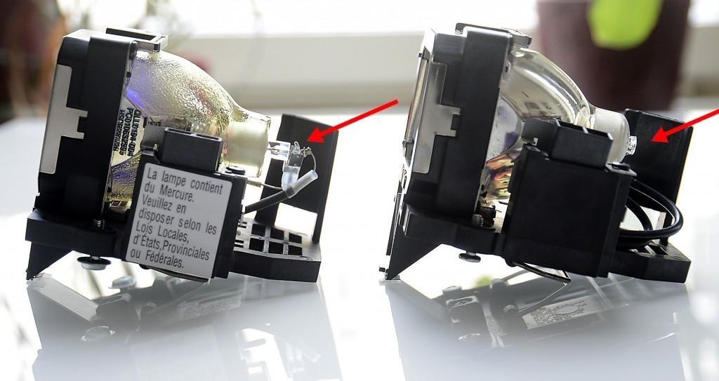 JVC vs Plagiat - Bauweise - links JVC, rechts Plagiat - Foto Michael B. Rehders_MBR3208