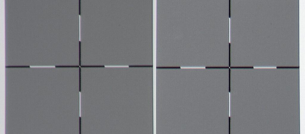 Sony VPL-HW65 - Schärfe - Bildrand links, Bildmitte_MBR6517