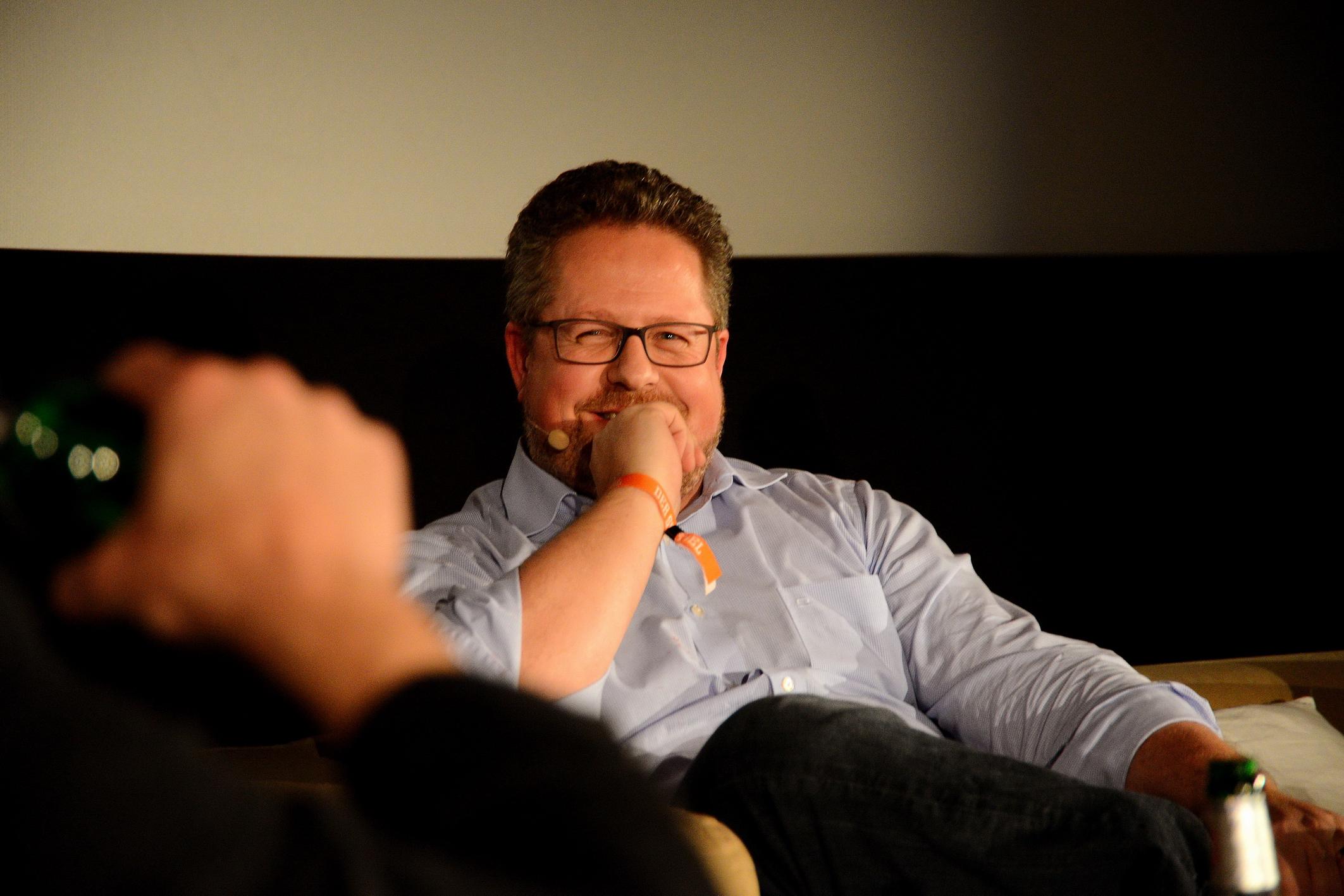 Foto: Michael B. Rehders Überzeugte durch seine überaus kompetenten Antworten, Jesper Doub, Geschäftsführer von SPIEGEL Online und zusätzlich Verlagsleiter des SPIEGEL-Verlags.