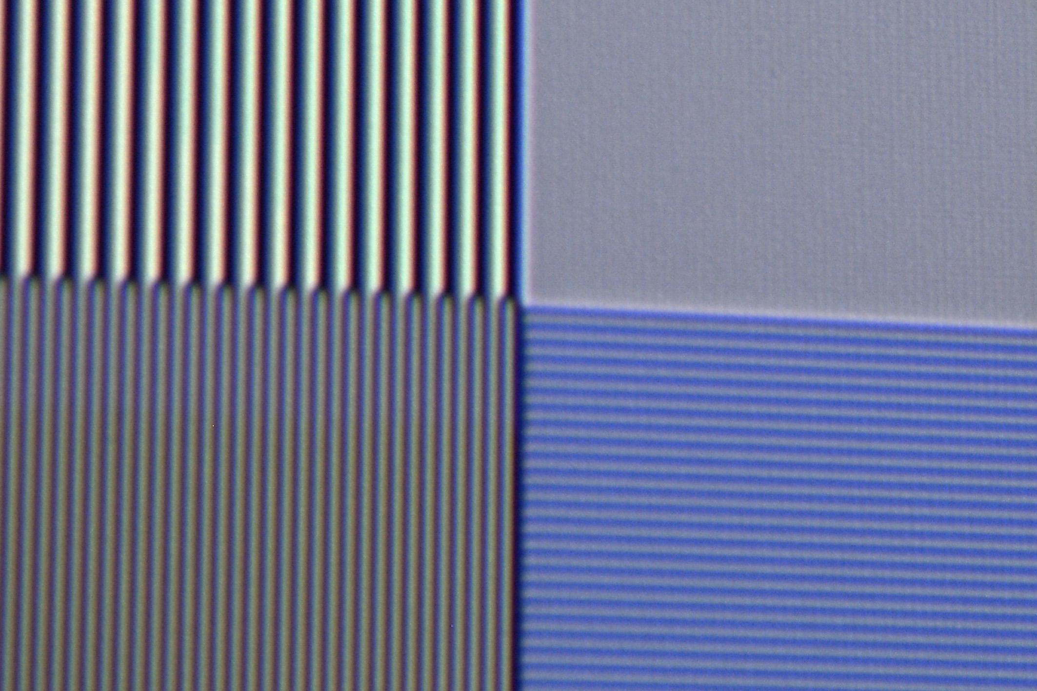 Sony VPL-VW550 - Auflösung UHD-Linien