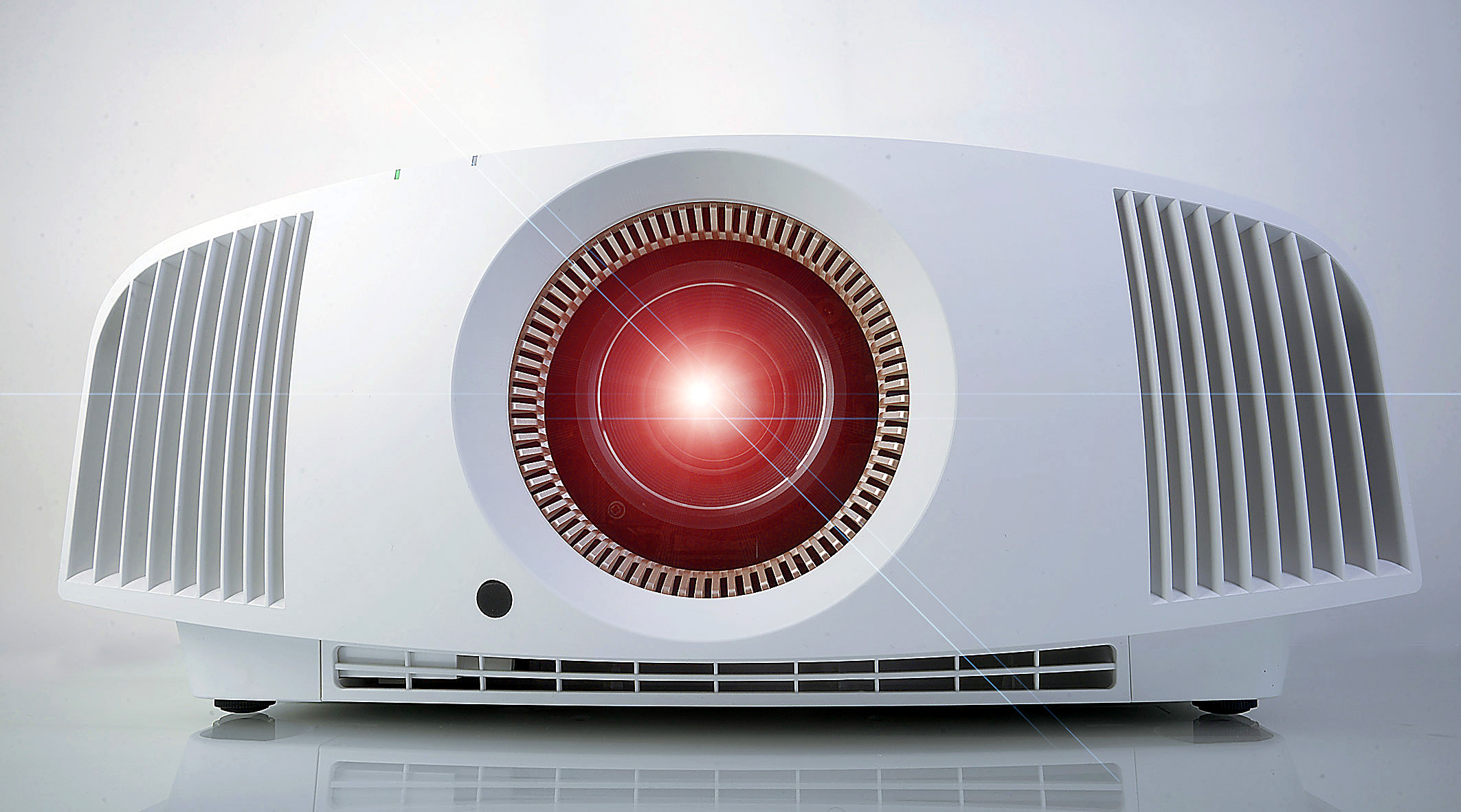 Sony VPL-VW550 mit Lens-Flares - Foto Michael B. Rehders
