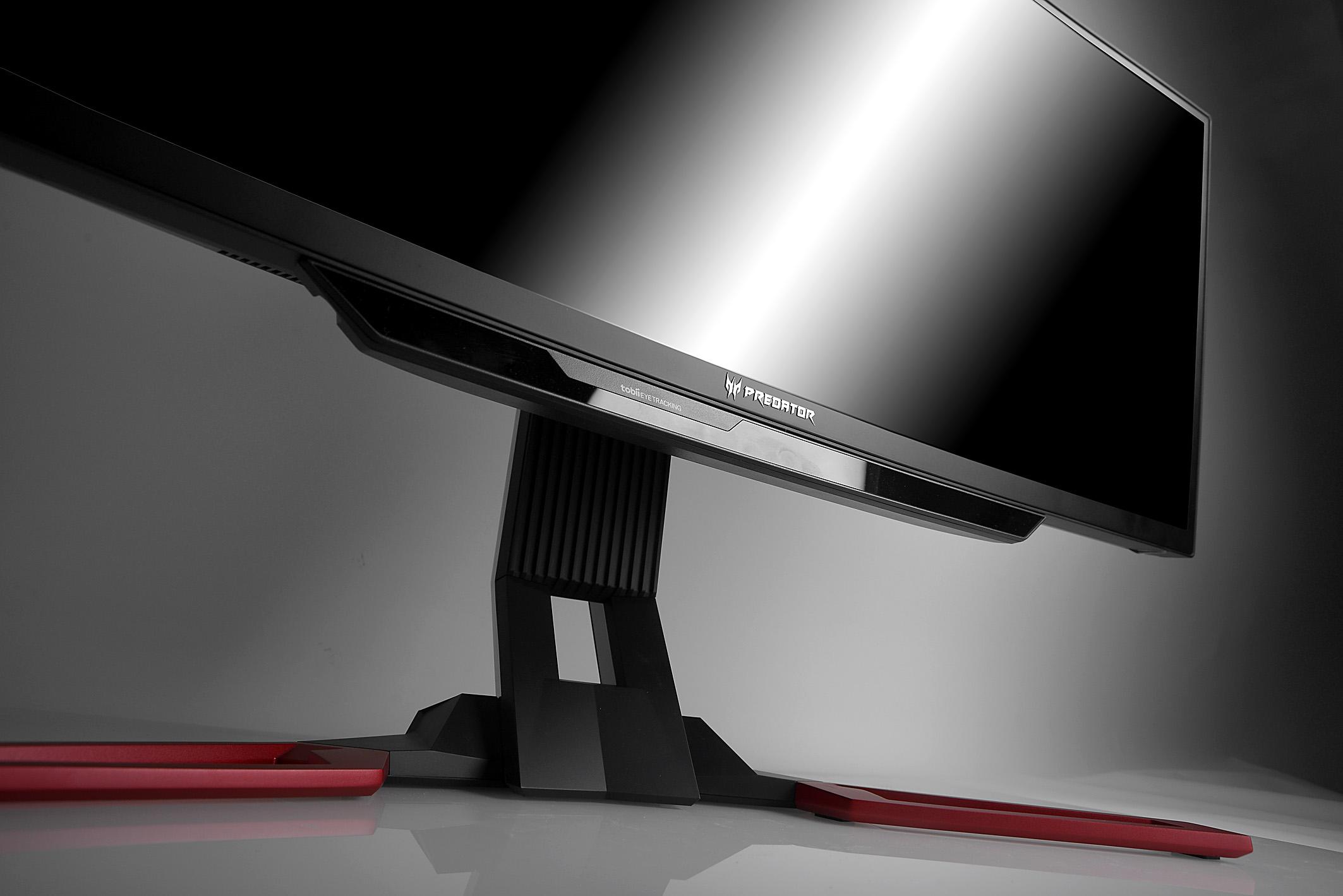 Der 21:9-Monitor im Curved-Design, der den klangvollen Namen Predator Z1 trägt, hat eine Bilddiagonale von 30 Zoll, was satten 76 cm entspricht. Die Auflösung beträgt 2560 x 1080 Pixel. Foto: Michael B. Rehders