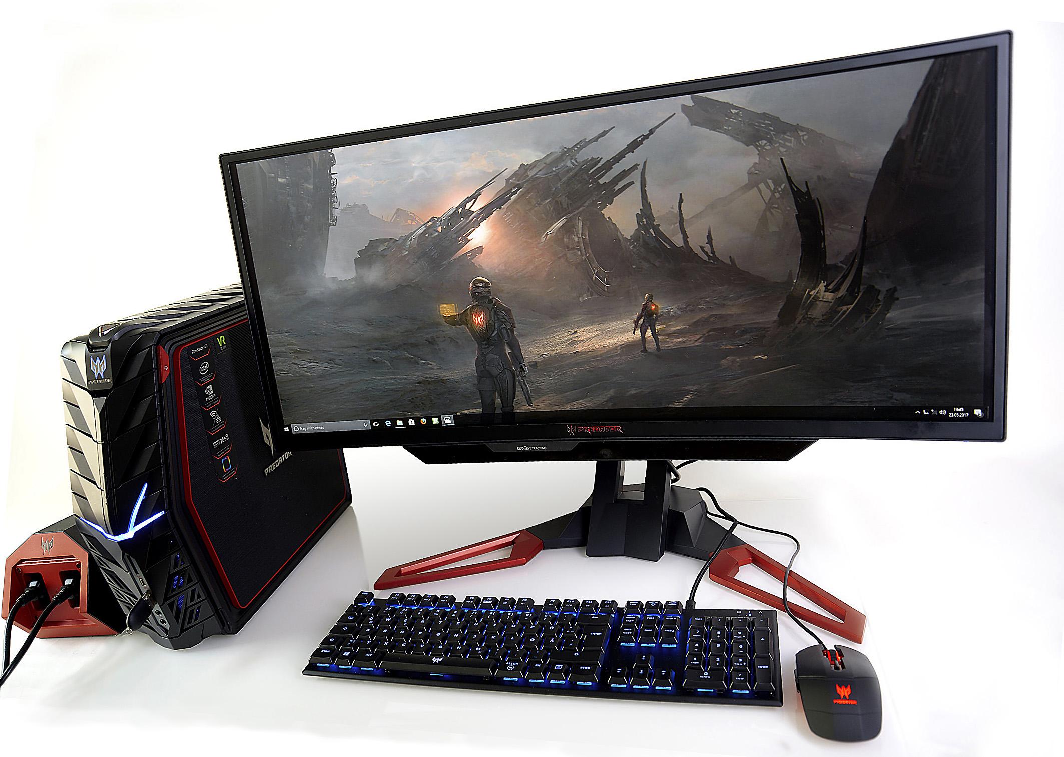 Predator G1 + Z1 mit Game - Foto Michael B. Rehders_MBR8568