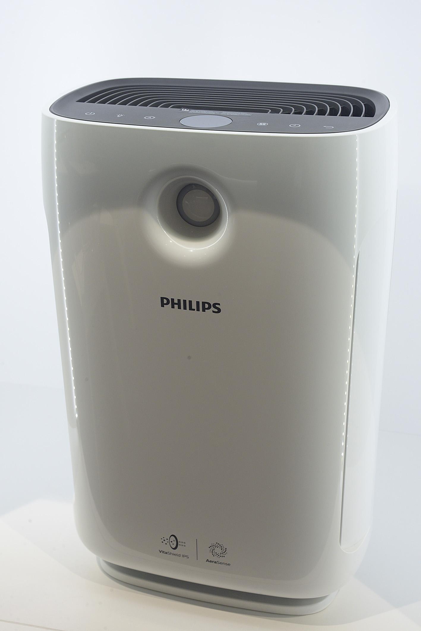 Foto: Michael B. Rehders Wer im Hochsommer Filme schauen möchte, dem bietet Philips ein hilfreiches Accessoire - Ein Klimagerät.