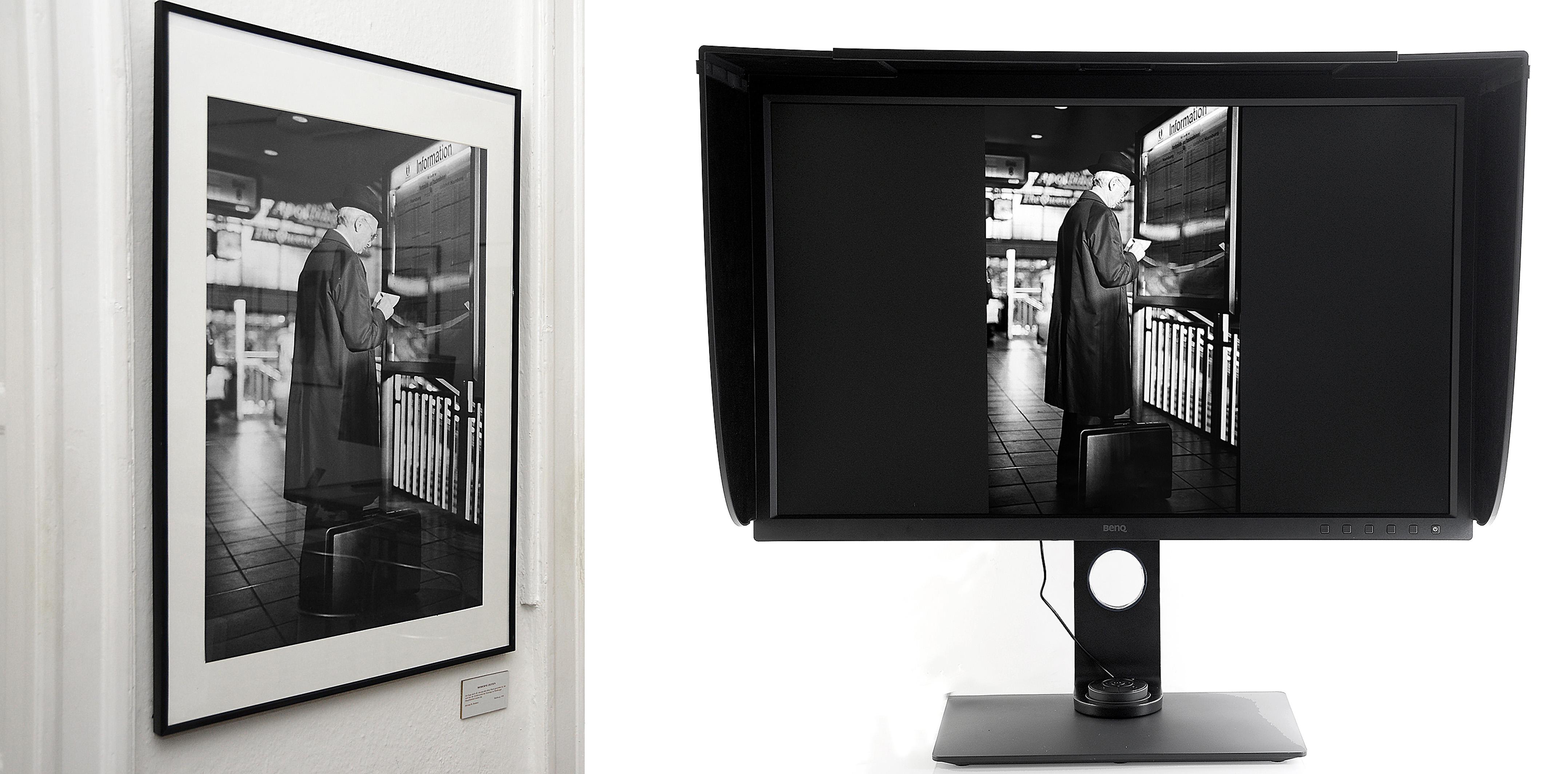 Foto: Michael B. Rehders Nur wenn im gesamten Workflow die jeweiligen Standards eingehalten werden - also vom Fotografen, Grafiker, Printer - erscheint das fertige Bildwerk (links) exakt so wie es der Fotograg (rechts) während der digitalen Weiterverarbeitung vorgesehen hat.