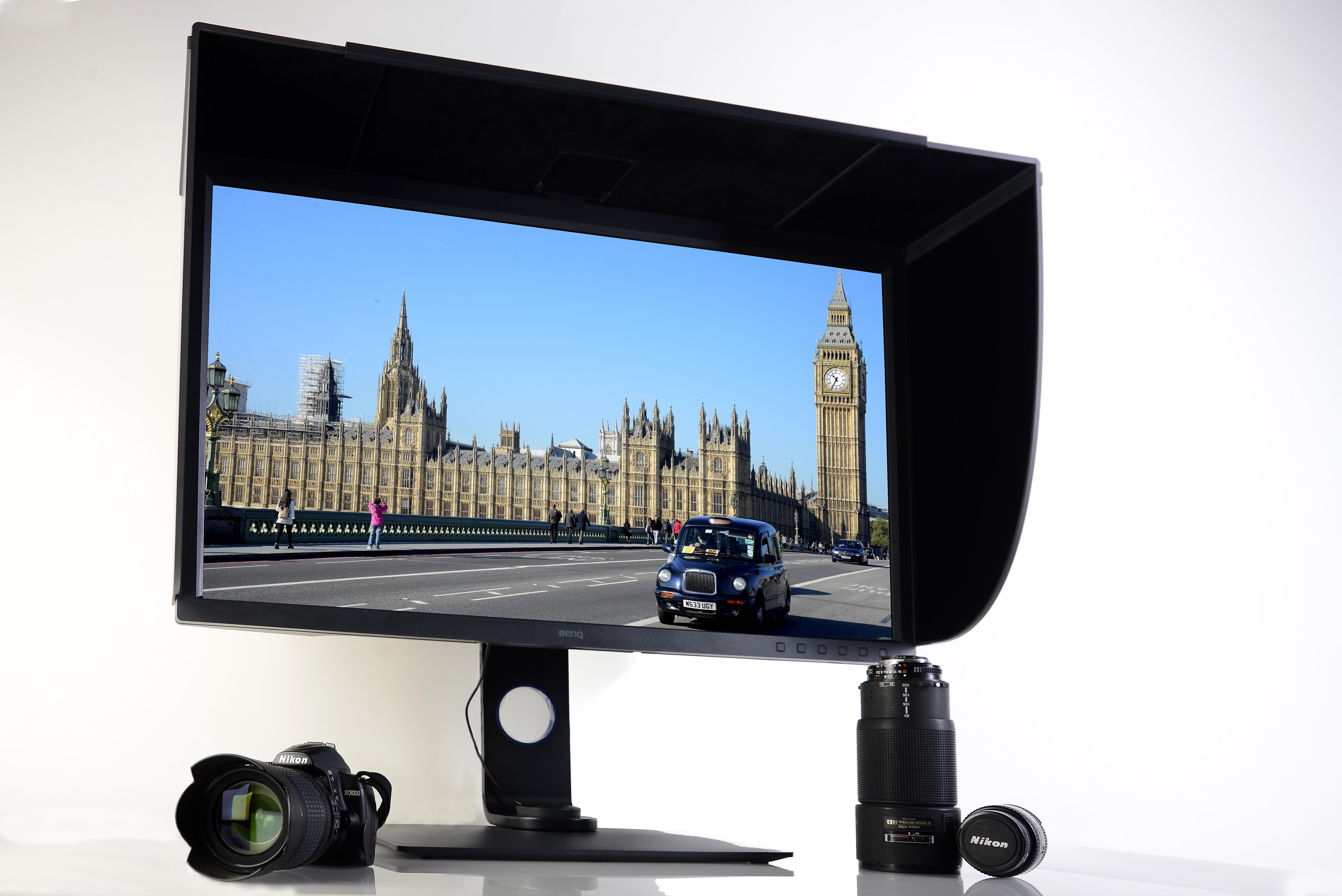 BenQ SW320 - Monitor mir Kamera - Foto Michael B. Rehders_MBR1298