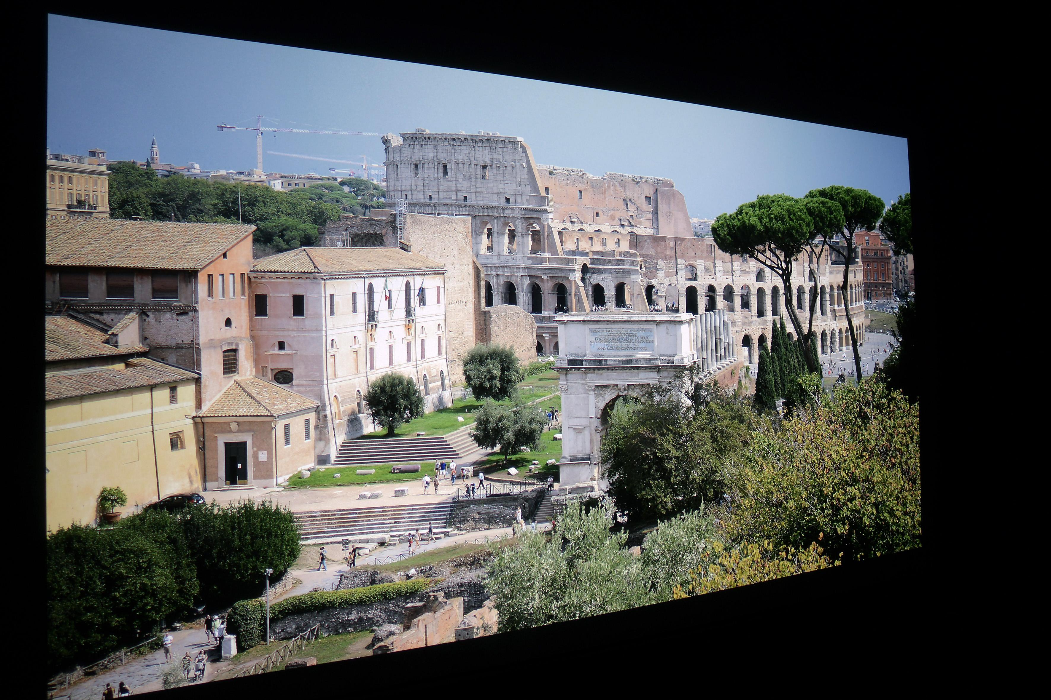 Foto: Michael B. Rehders (Originalaufnahme) Kurz vor einem Gewitter entstand diese Aufnahme in Rom.
