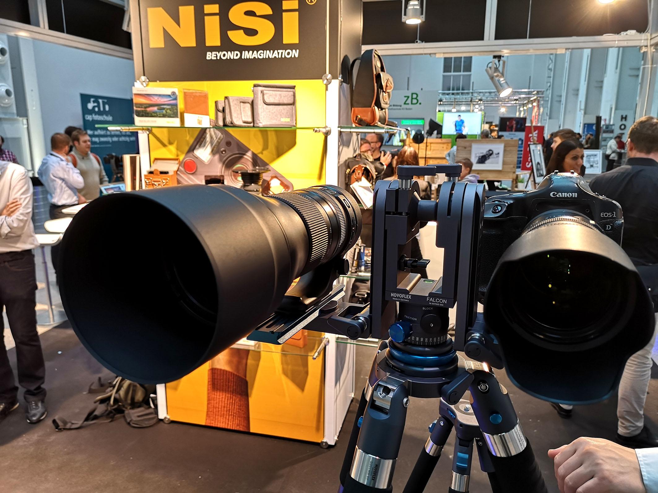 Foto: Michael B. Rehders - Canon präsentierte seine Range an Objektiven und Kameras.