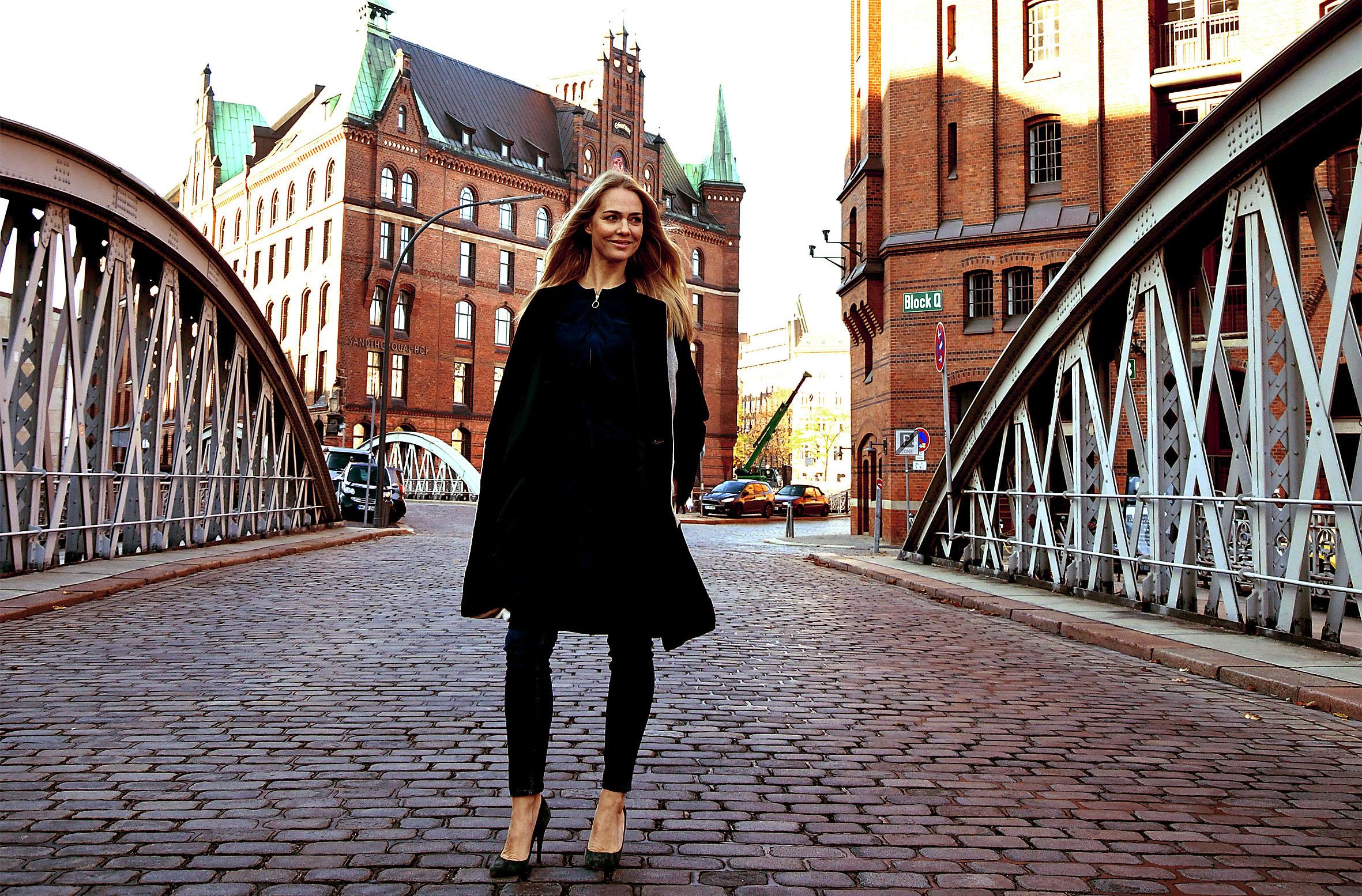Foto: Michael B. Rehders - Nathalie von der Agentur Catwalk in der Speicherstadt.