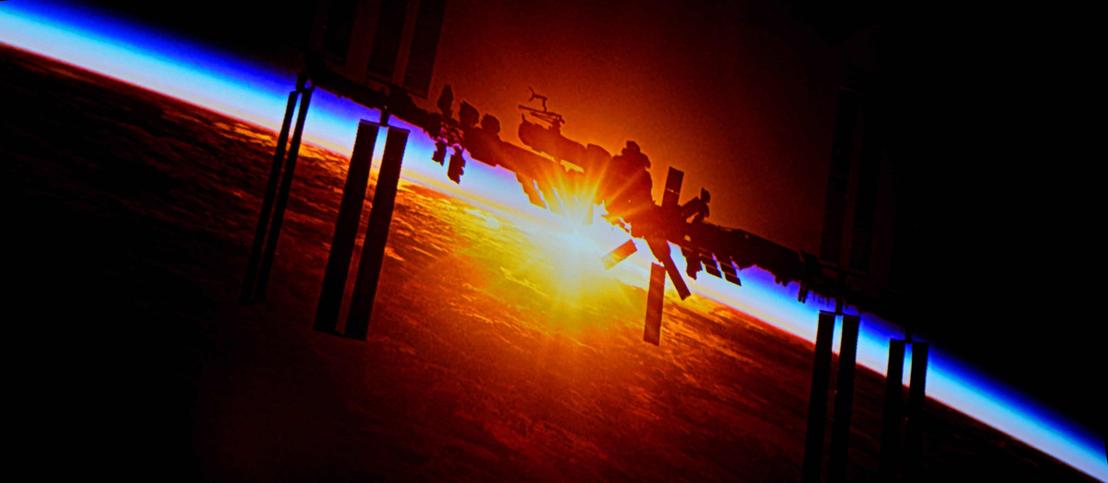 Raumstation ISS aus dem Spielfilm LIFE von Sony Home Entertainment.