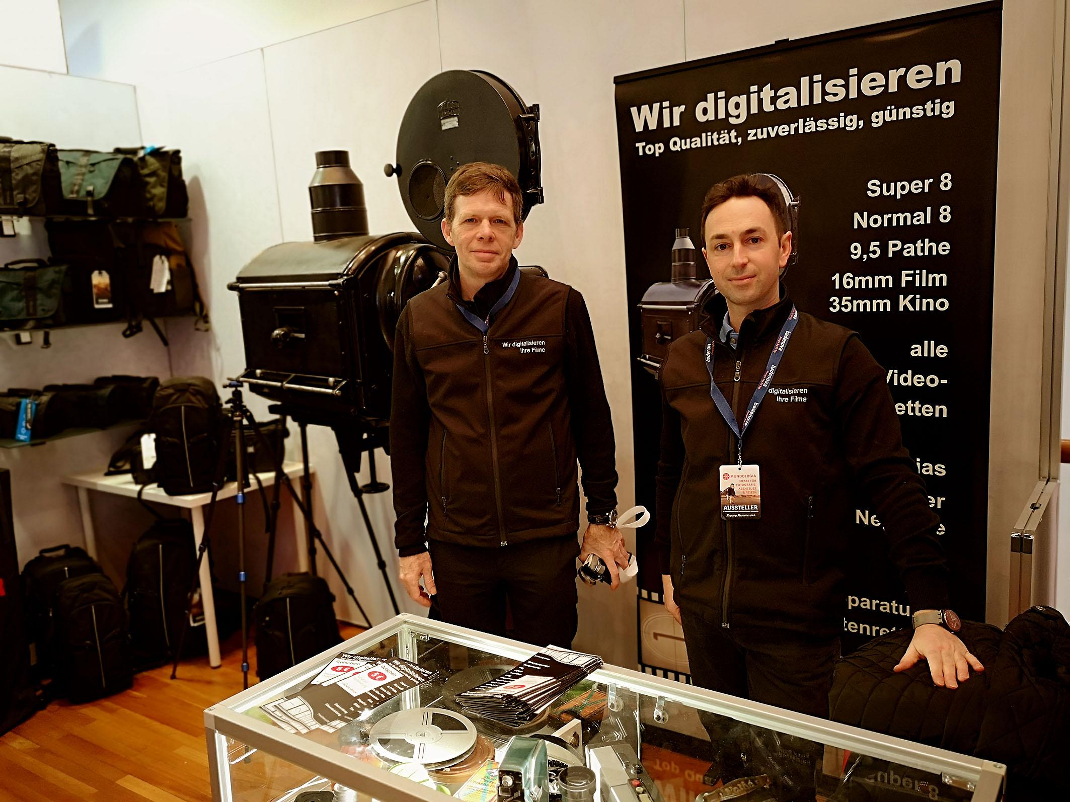 Foto: Michael B. Rehders - Wer noch Super-8-Filme oder gar 35mm-Filme besitzt. Dieses Unternehmen digitalisiert sie zu wirklich fairen Preisen.