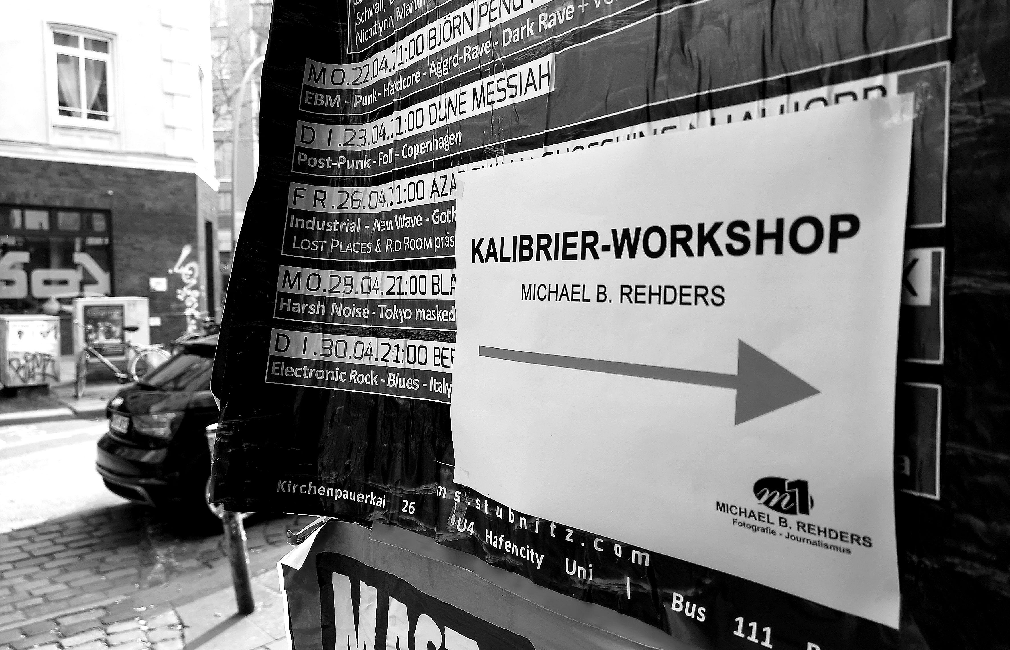 Foto: Michael B. Rehders - Ein paar Wegweiser nahmen die Teilnehmer an die Hand - und führten sie direkt in mein Heimkino.