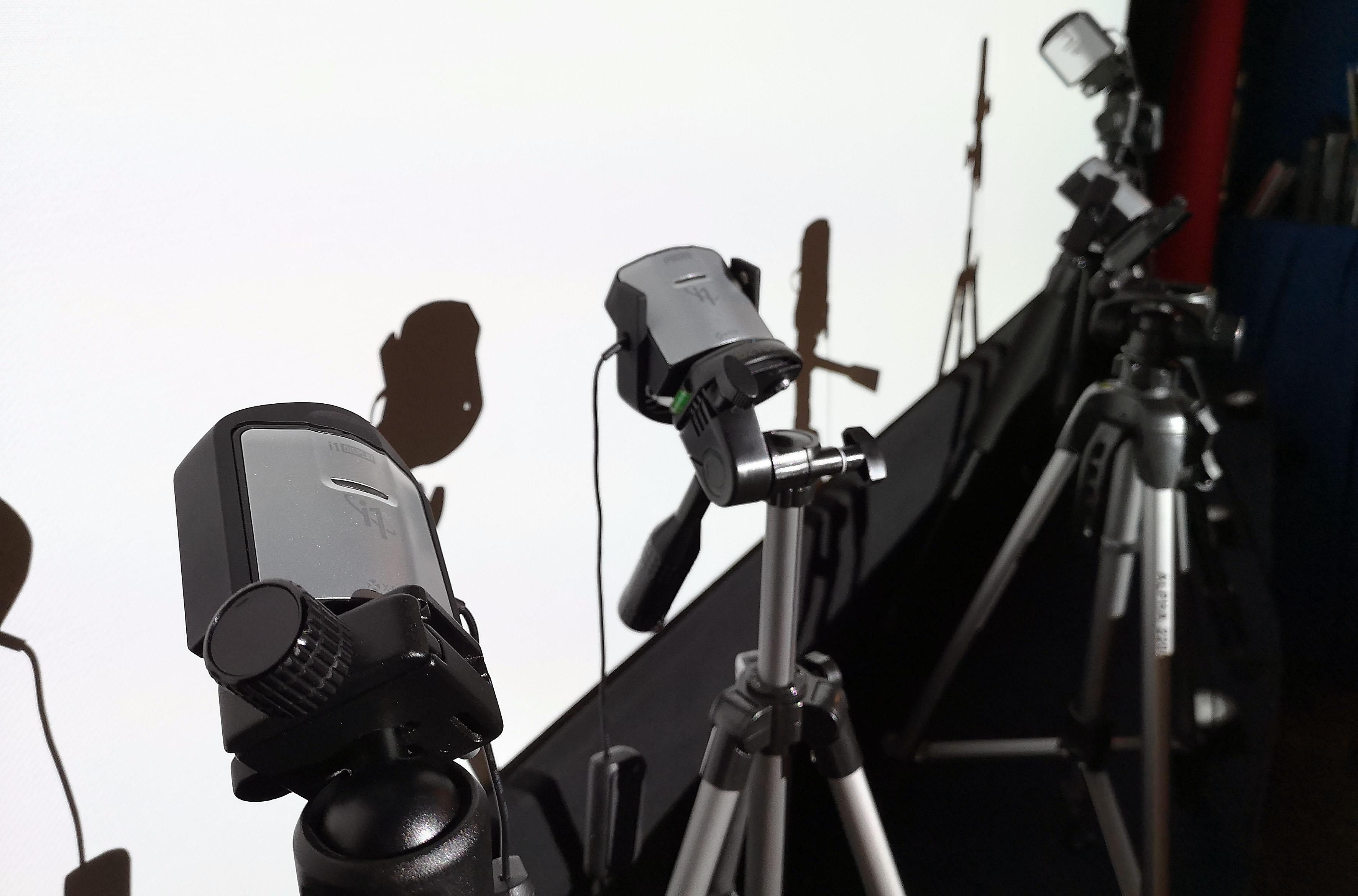 Foto: Michael B. Rehders - Noch während der Pause wurden die ersten Sensoren in Stellung gebracht.