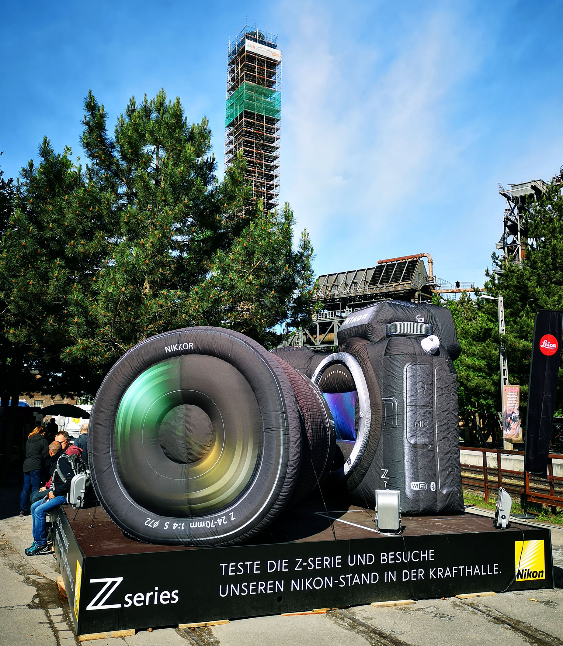 Photo und Abenteuer. Nikon war mit einem großen Stand vertreten, um die neue Z-Serie vorzustellen. Foto: Michael B. Rehders