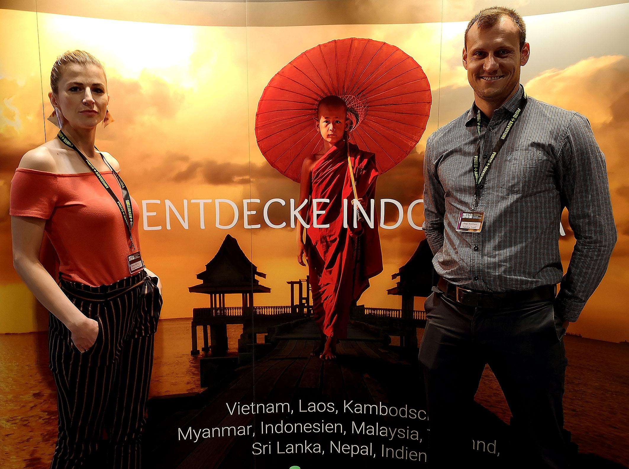 Wer Indochina entdecken möchte, fand an diesem Stand reichlich Infos. Foto: Michael B. Rehders