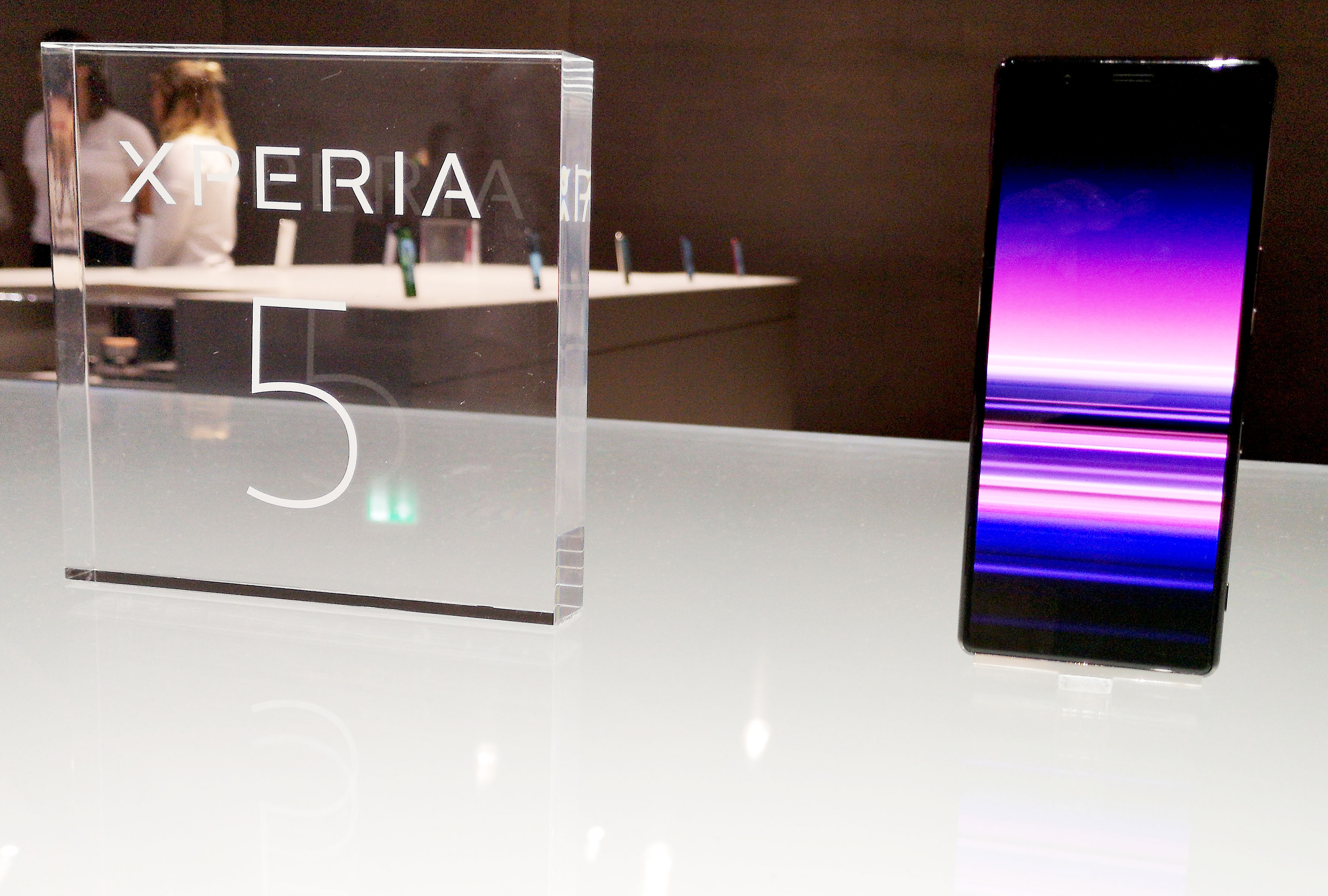 Foto: Michael B. Rehders - Das Sony Xperia ist allgegenwärtig.