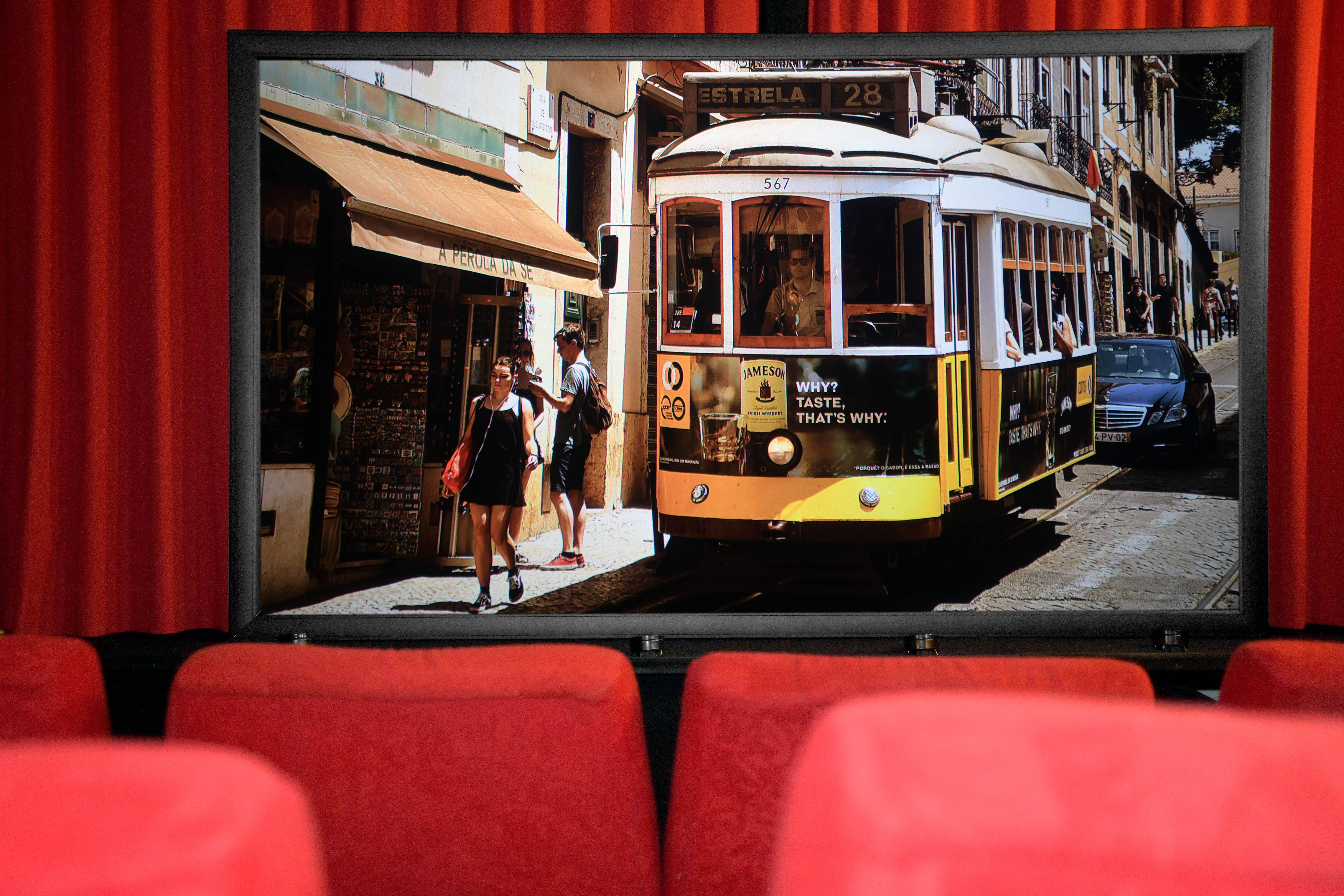 Gut verarbeitet und elegant designt - die WS S CinemaFrame Ambient HC. Foto: Michael B. Rehders